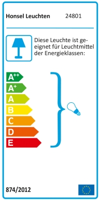 Wandlampe chrom Eco Halogen