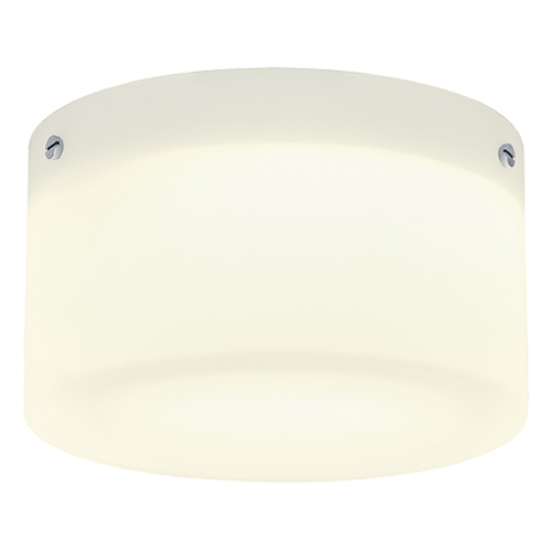 leuchten und lampen deckenleuchte rund weiss chrom satiniertes glas tc. Black Bedroom Furniture Sets. Home Design Ideas