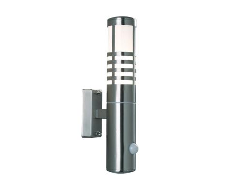 leuchten und lampen wandmit sensor lampe edelstahl pvc farbe edelstahl. Black Bedroom Furniture Sets. Home Design Ideas