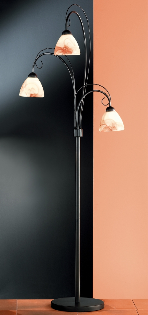 leuchten und lampen stehlampe rostfarbig antik eco halogen stehlampe. Black Bedroom Furniture Sets. Home Design Ideas