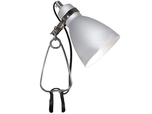 Klemmspot Leuchte Metall Farbe Aluminium - Beleuchtung Klemmspot