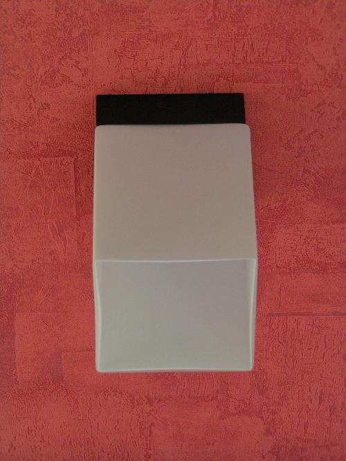 Deckenleuchte Würfel Opalglas - Lampen Shop Deckenleuchten