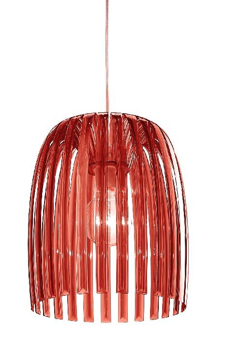 Acrylpendelleuchte rot moderne lampen lampen acrylpendelleuchten