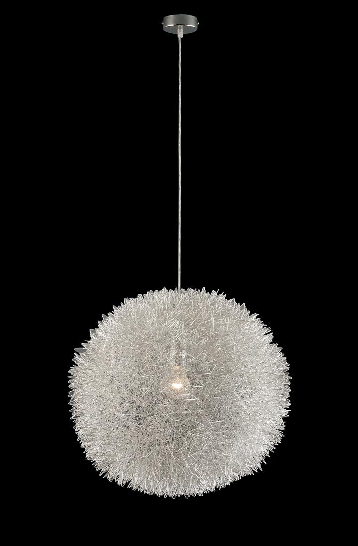 leuchten und lampen pendelleuchte silber gro drahtgeflecht alu. Black Bedroom Furniture Sets. Home Design Ideas