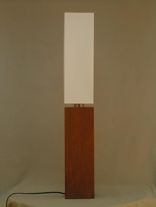 leuchten und lampen tischleuchte stoffschirm wei holz buche moderne. Black Bedroom Furniture Sets. Home Design Ideas