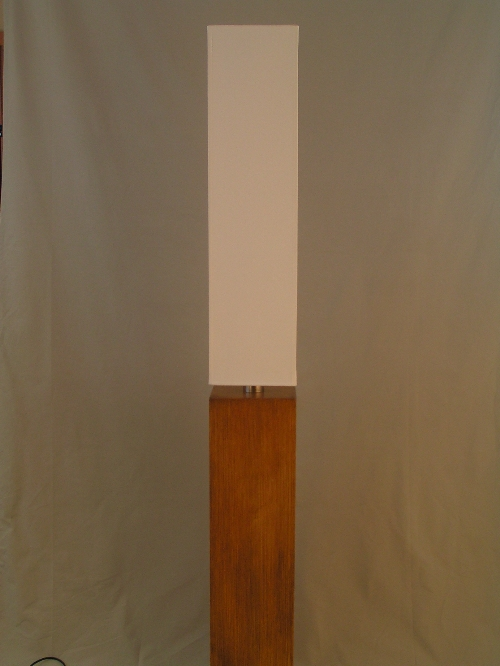 leuchten und lampen stehleuchte stoffschirm wei holz buche moderne. Black Bedroom Furniture Sets. Home Design Ideas
